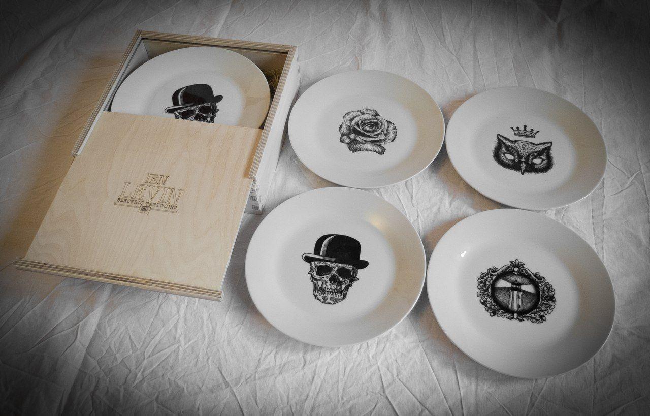 Ien Levin Ltd 10 Dish.