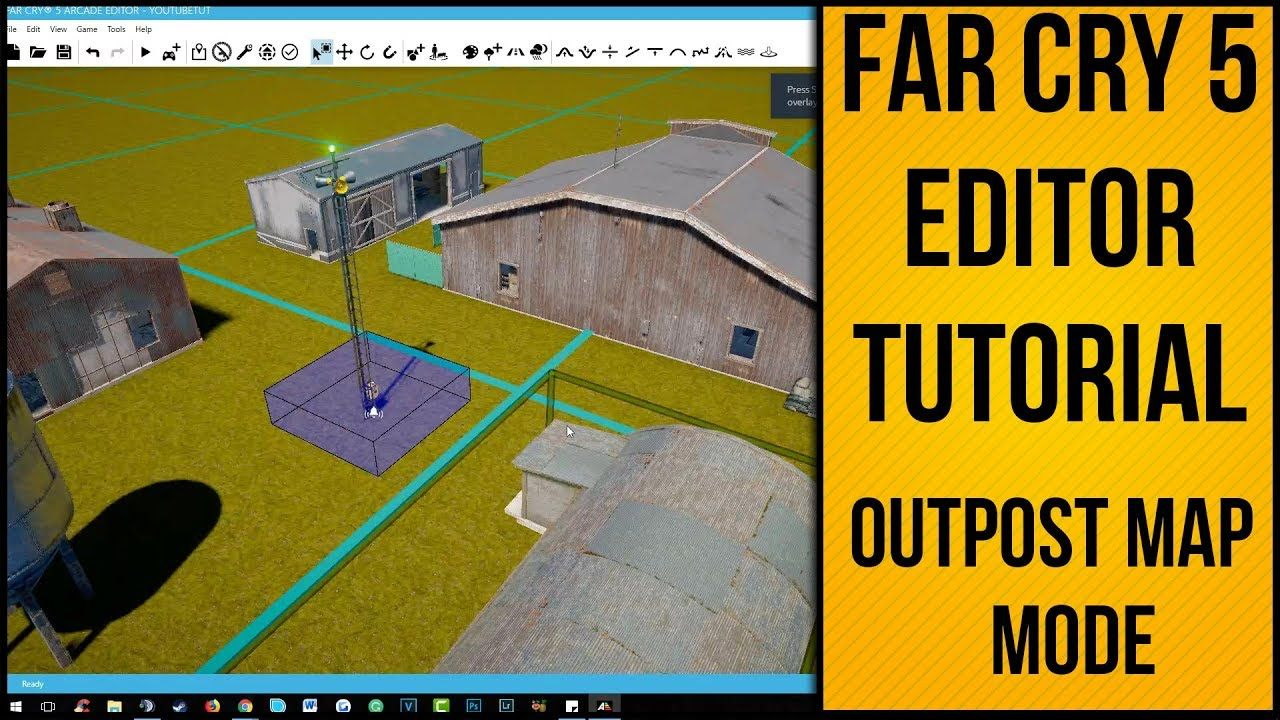 Far Cry 5 Editor Tutorial Outpost Objective Map With Images Tutorial