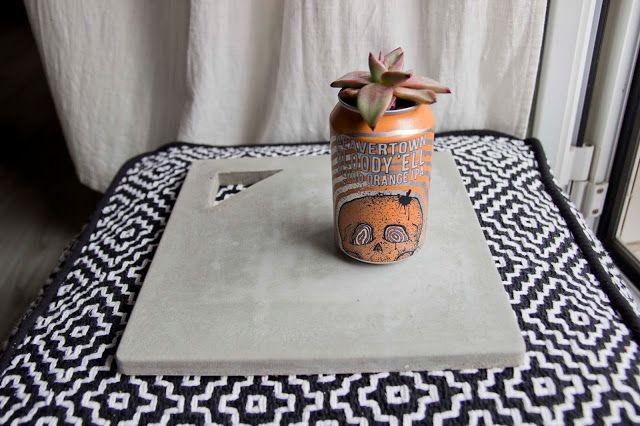 Bandeja de cemento · DIY · - Hay un trasto en mi trastero