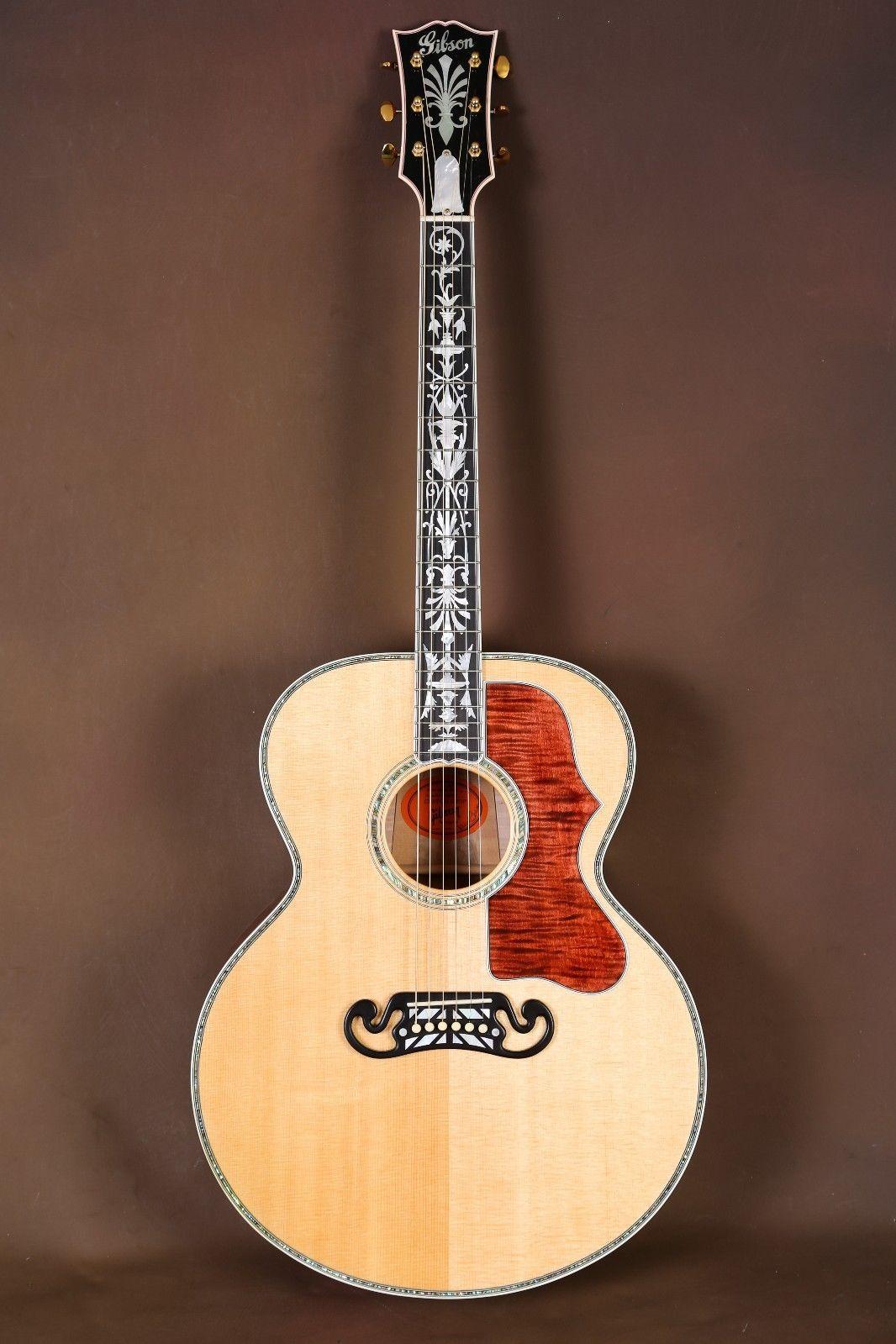 2008 Gibson Sj 200 Rose Custom Quilt Acoustic Guitar J 200 Gibson Acoustic Acoustic Guitar Acoustic