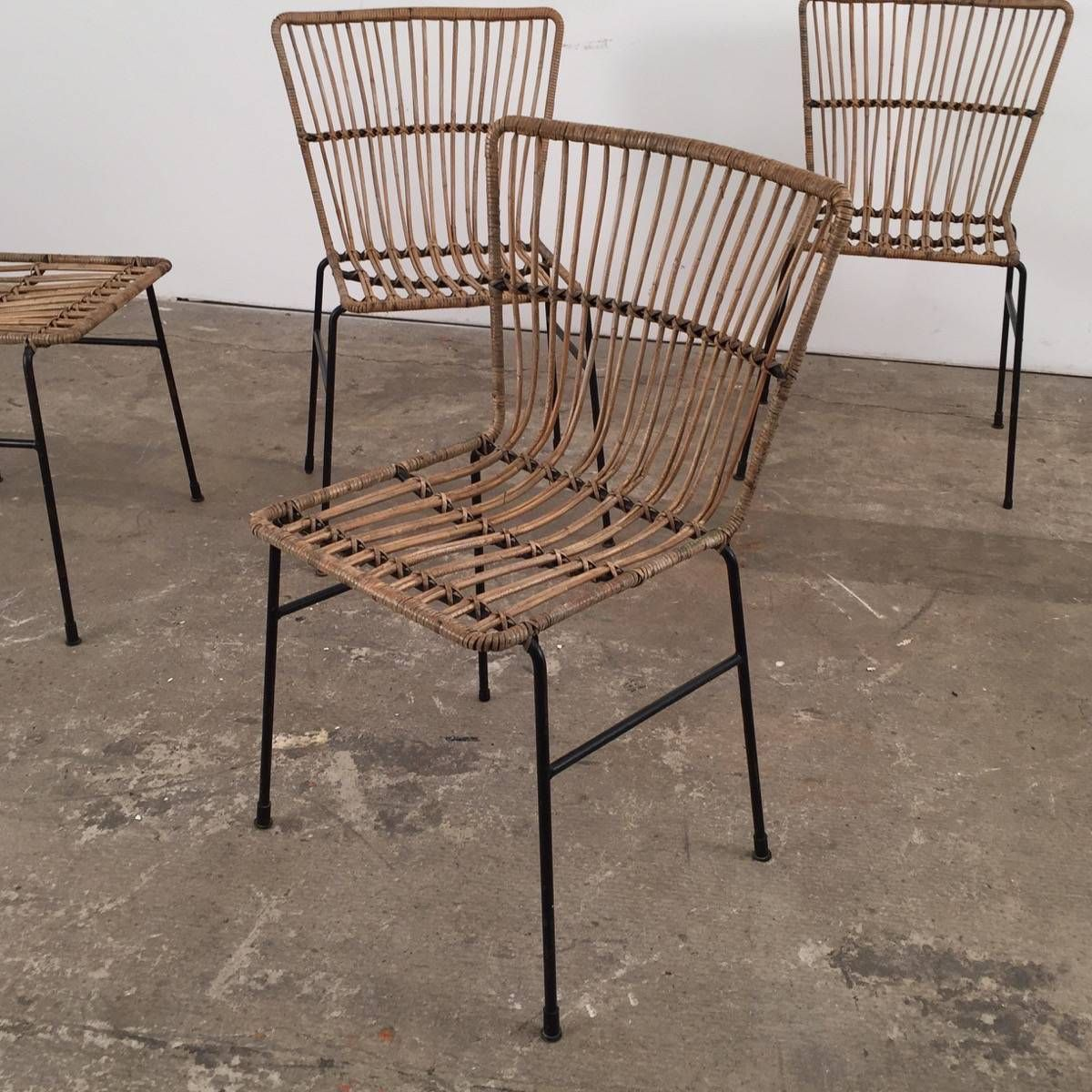 chaises vintage en rotin by Espace Nord Ouest | HOME ...