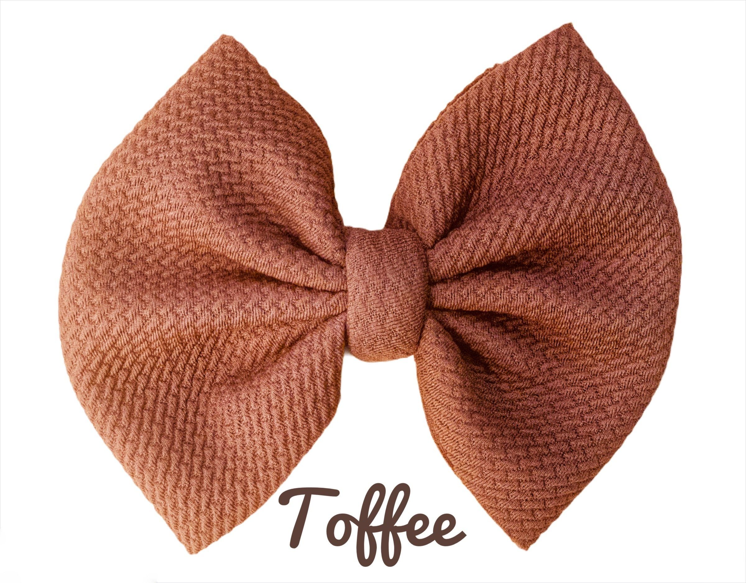 """Photo of 5"""" Solid colors – Toffee / Clip"""