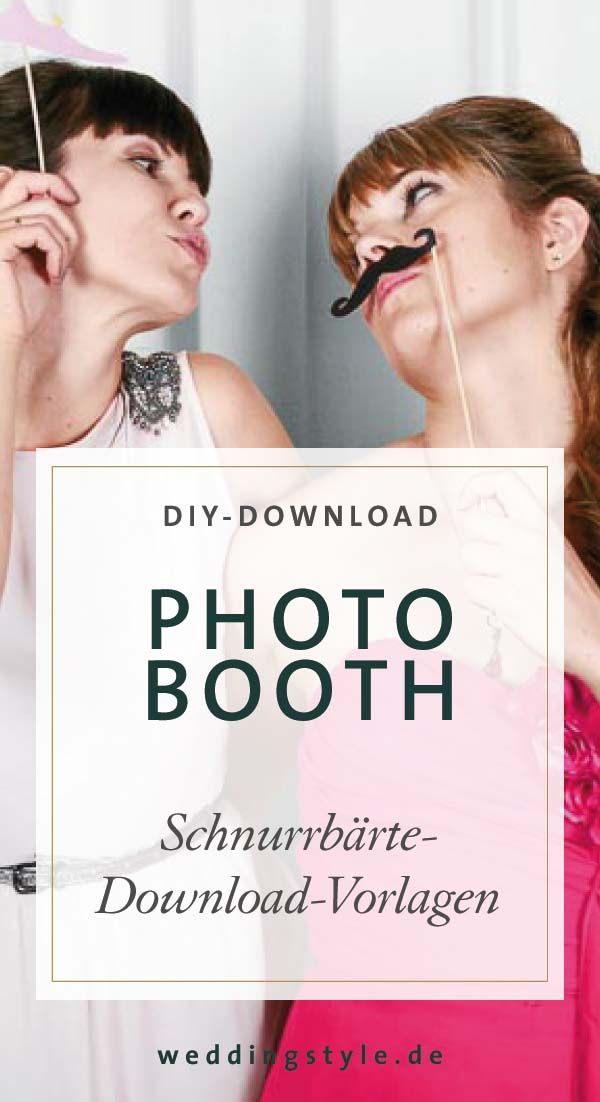 Photo Booth Accessoires Selber Machen