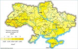 Karta Zagryazneniya Territorii Ukrainy Ceziem Karta Ukraina