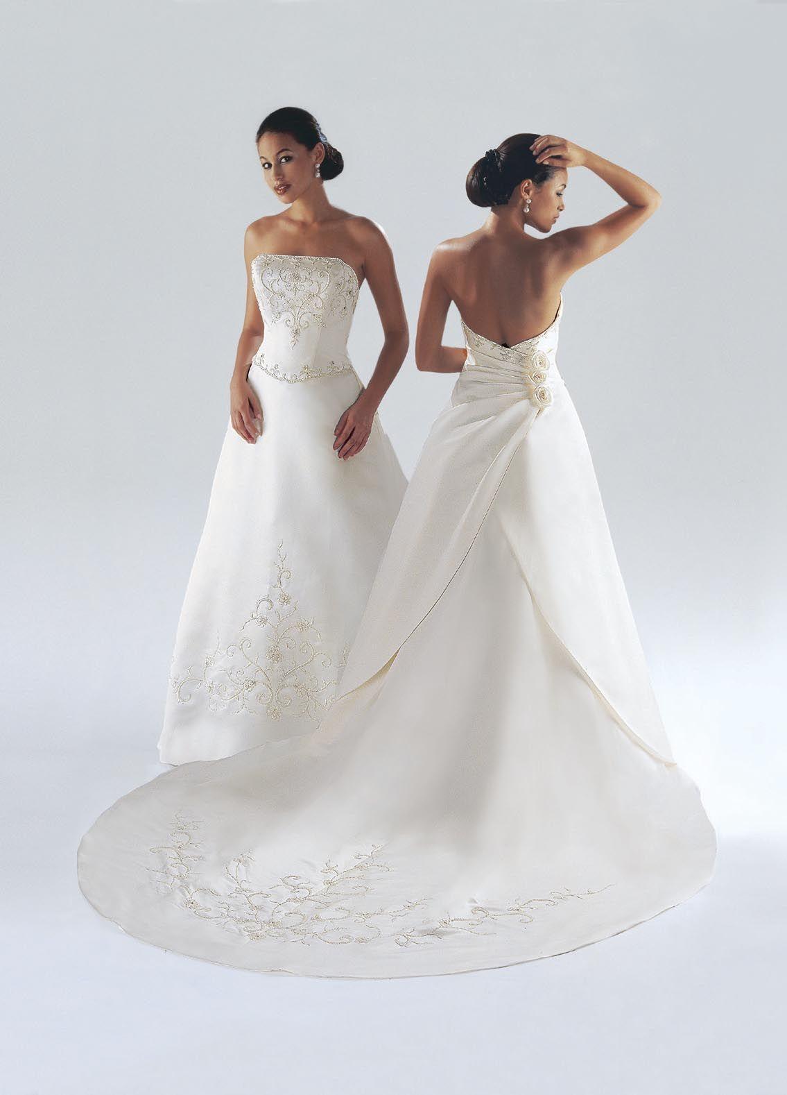 Style 8004 » Wedding Dresses » Da Vinci Bridal » Available Colours ...