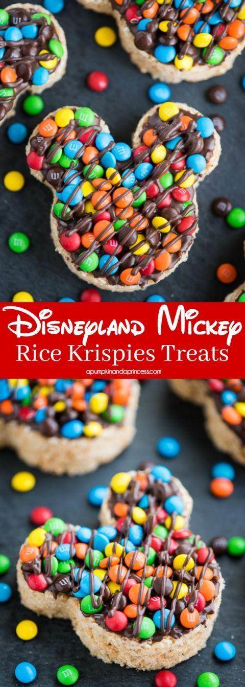 Mickey Rice Krispies Treats #ricekrispiestreats
