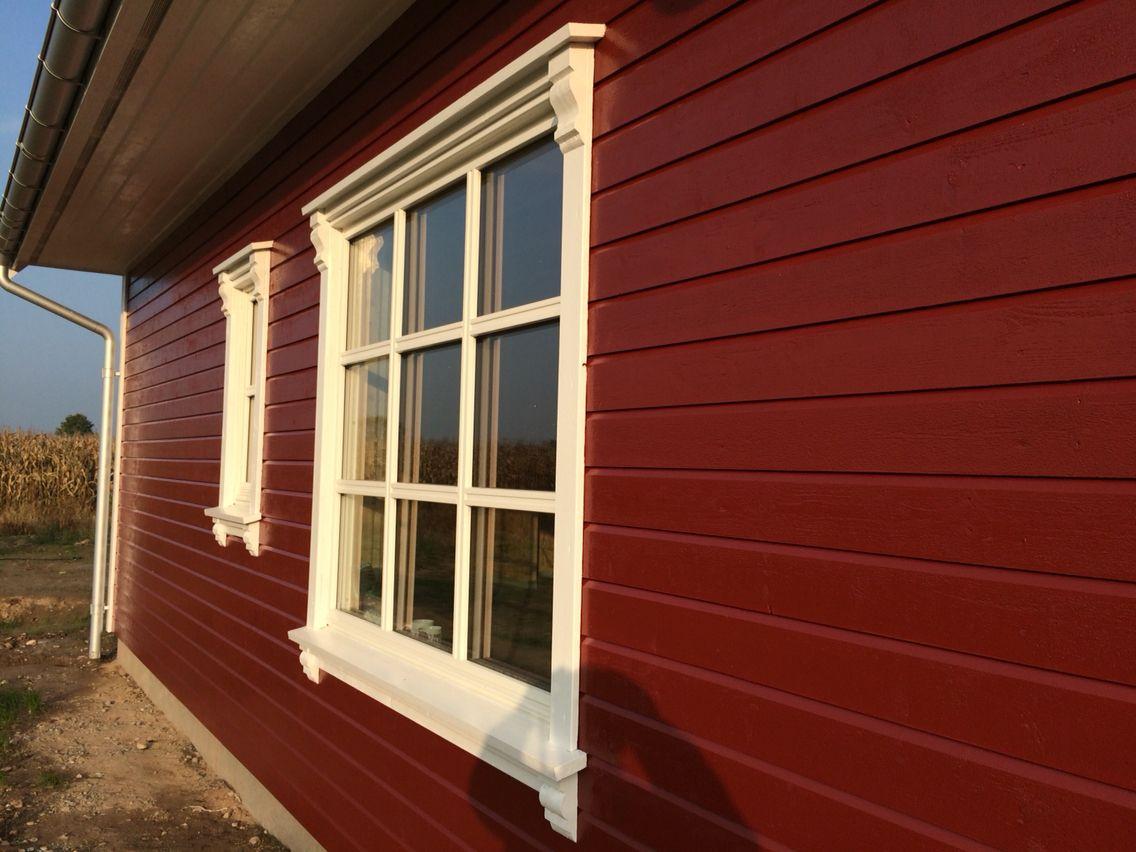 Außenfarbe außenfarbe tjaeralin landröd unser norwegisches holzhaus