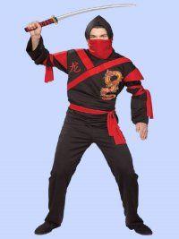 Rubies Halloween Adult Dragon Ninja Costume XL Male  sc 1 st  Pinterest & Rubies Halloween Adult Dragon Ninja Costume XL Male | Halloween ...
