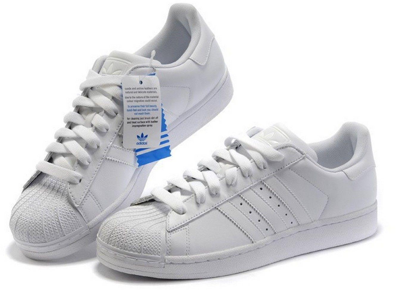 adidas en blancas