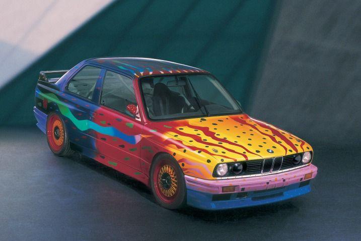 Bmw E30 M3 Art Car