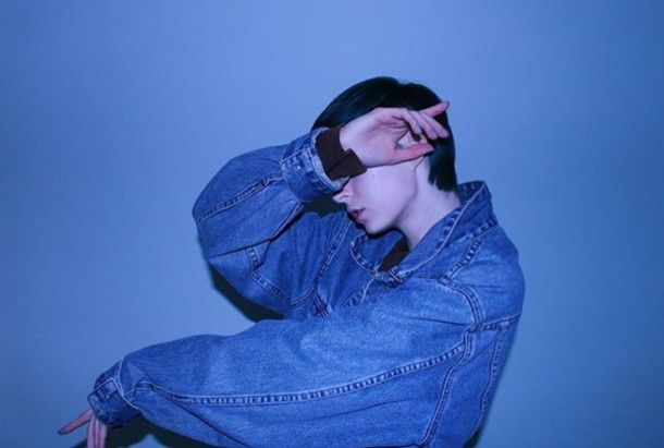 Jacket: denim jacket, tumblr, blue, blue aesthetic, soft grunge ...