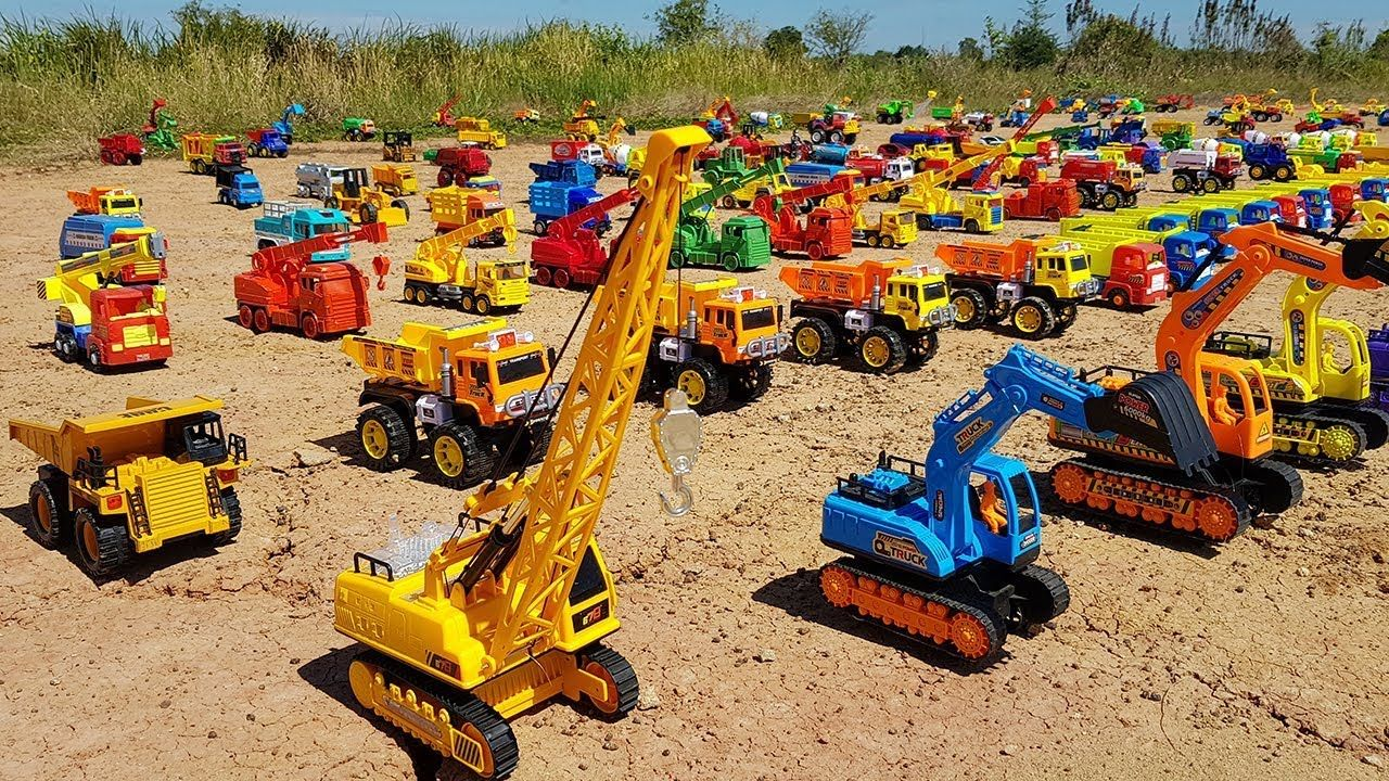 Cars Names For Kids To Learn Dump Truck Excavator Toys For Children To Toy Car Kids Toys Excavator Toy