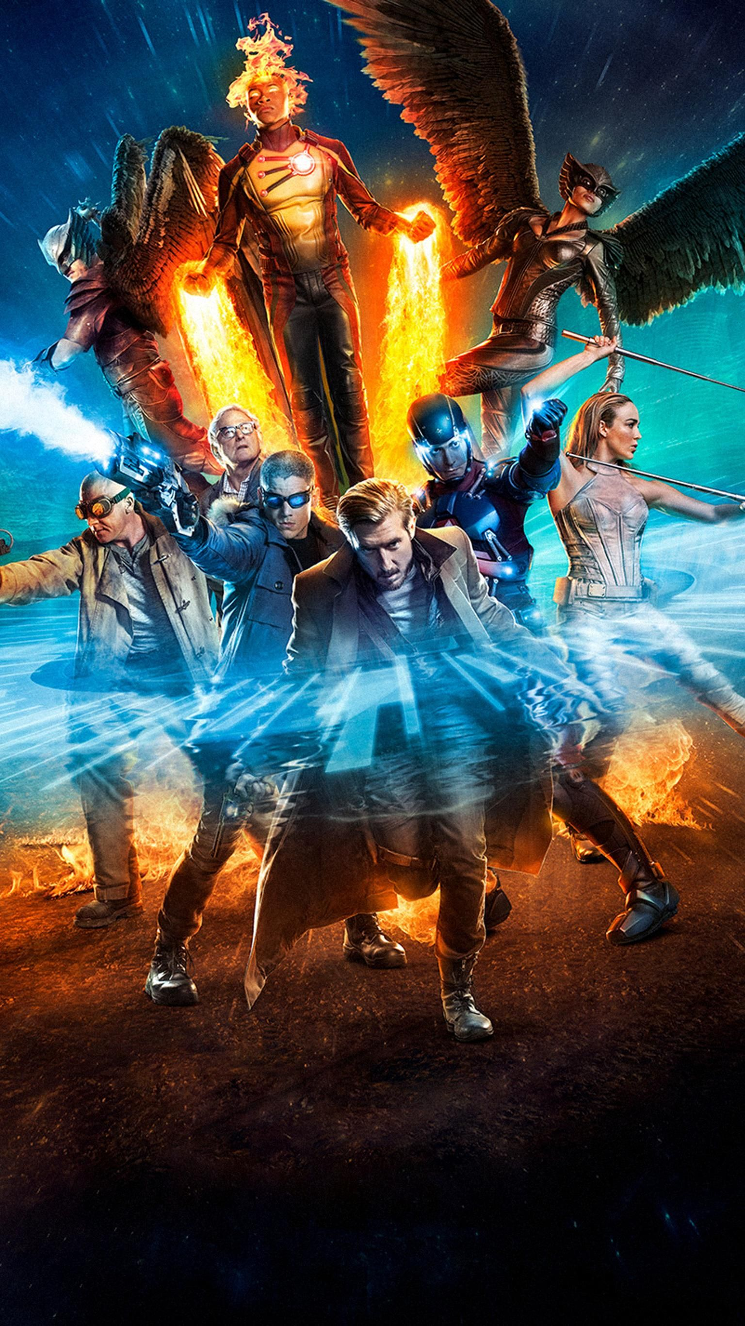 Dc S Legends Of Tomorrow Phone Wallpaper Dc S Legends Of