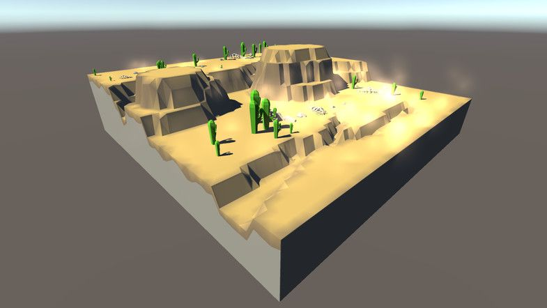 Low-Poly Terrain Generator Lite - Stylized World made easy