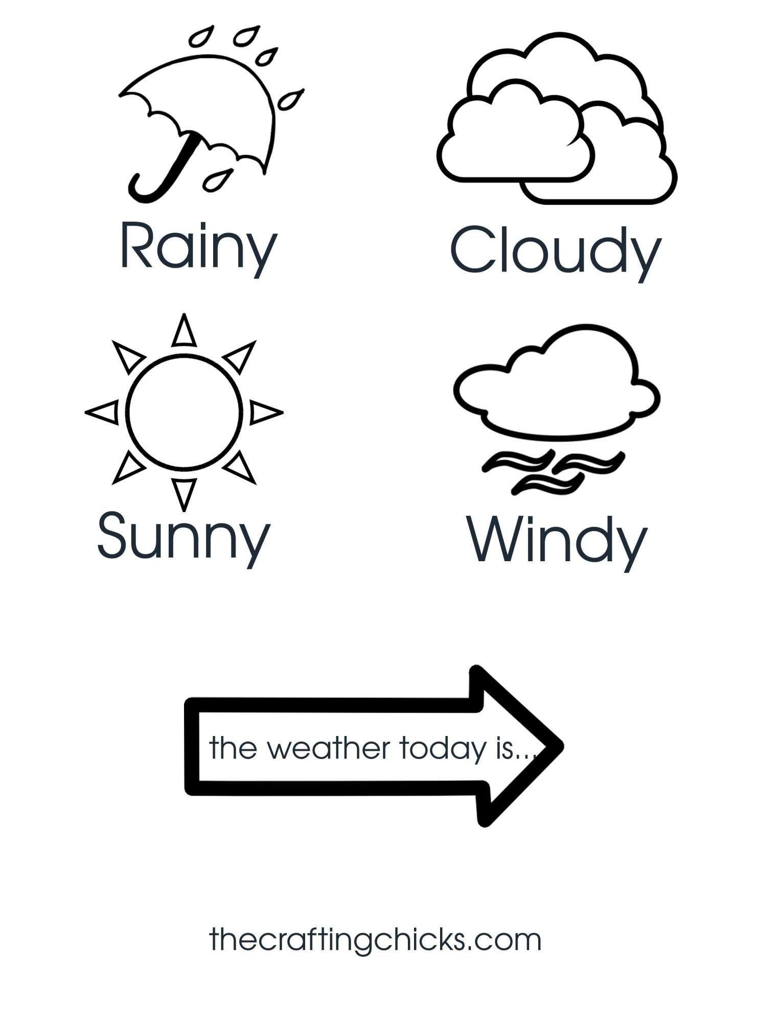 10 Kindergarten Weather Chart Worksheet In