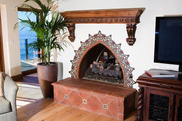 Spanish Style Fireplace Spanish Architecture Spanish
