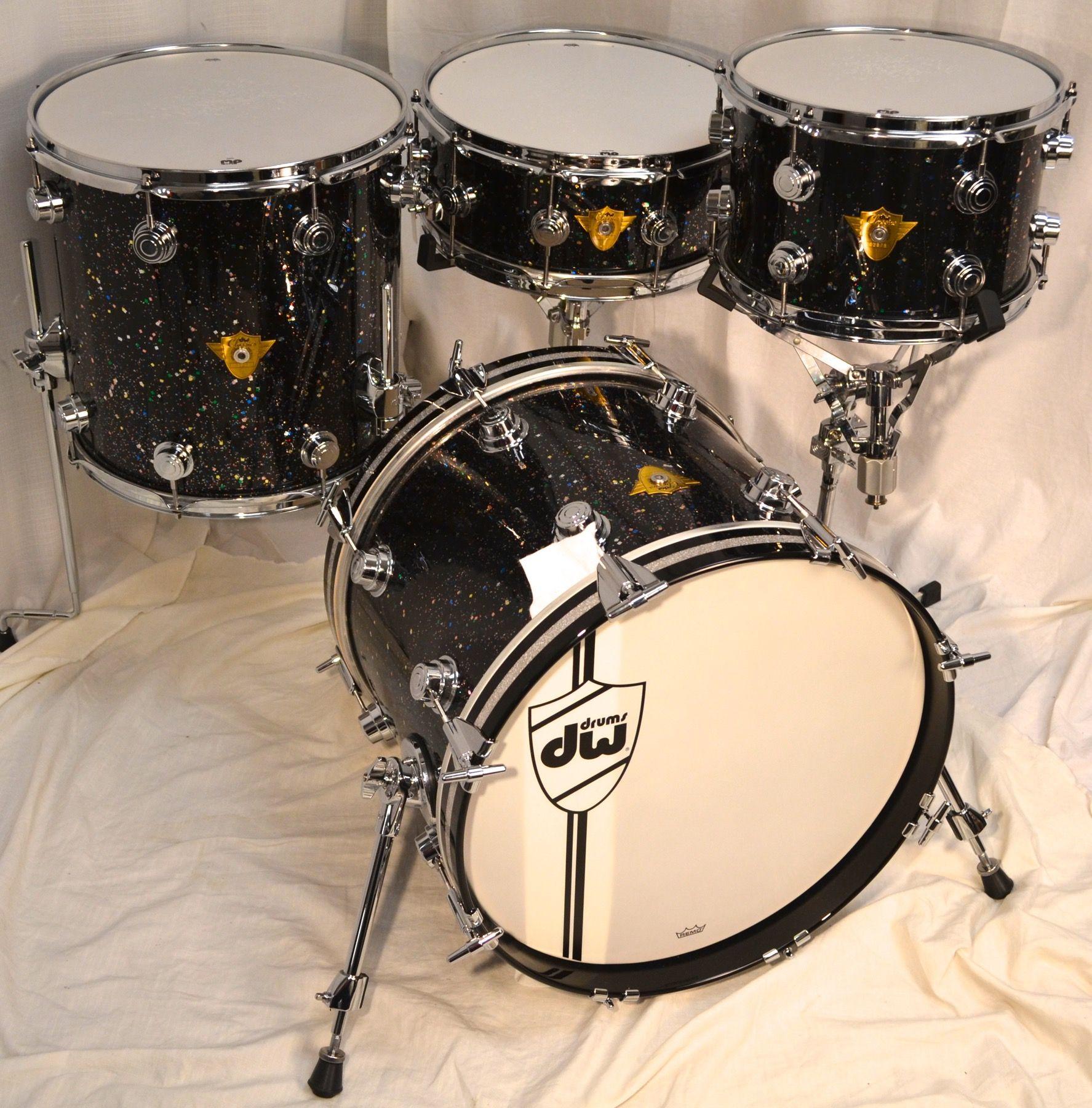 Dw Classic Series Drum Set Mardi Gras Dw Drums In 2019