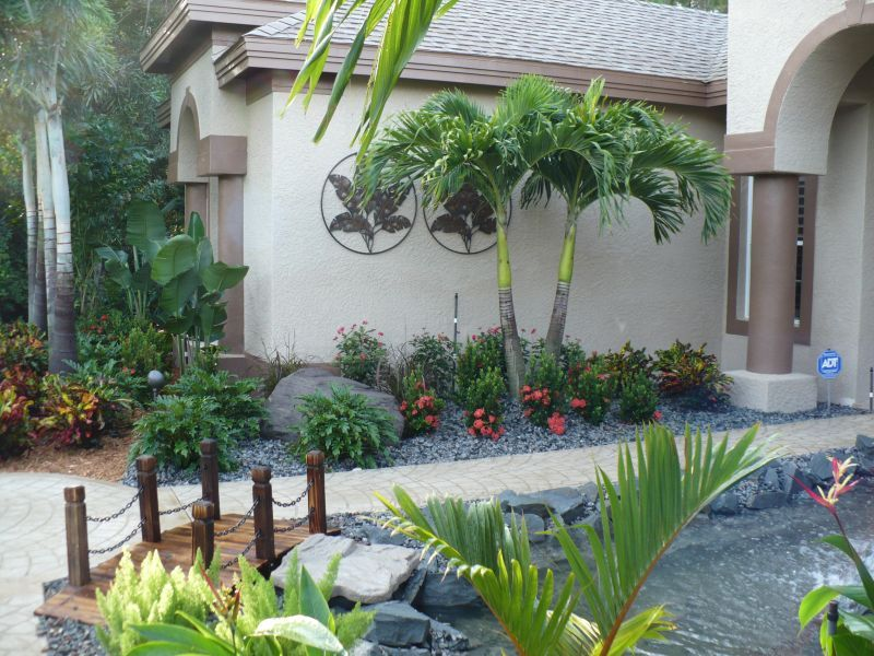 small front yard florida landscaping ideas | Tropical ...