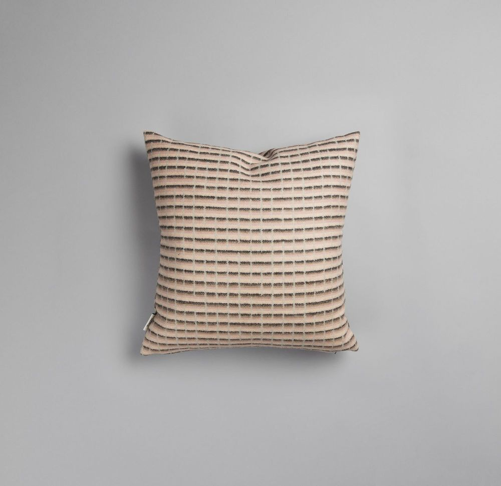 Roros Tweed 100% Norwegian Lambswool Agnes Pillow Cushion #RorosTweed #NorwegianModern