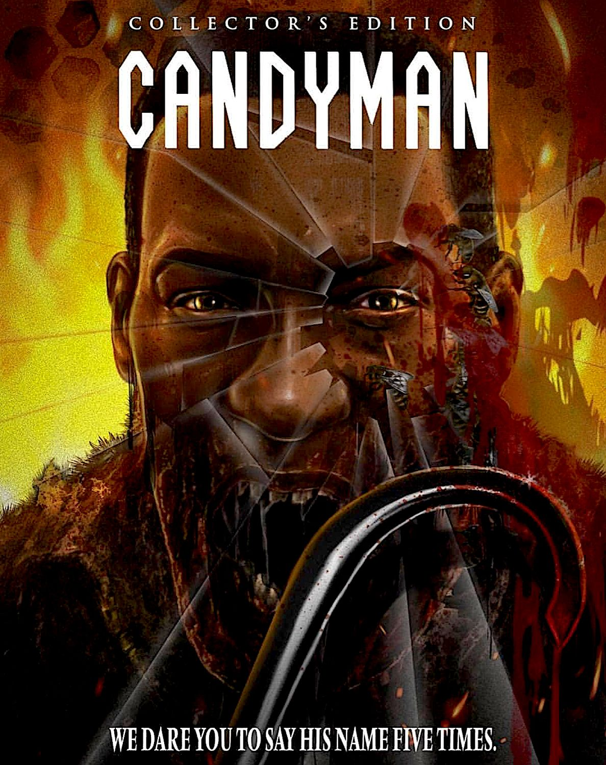 Candyman Limited Edition Collector S Edition Blu Ray Slipcover Scream Factory Scary Movie Characters Horror Movie Art Horror Movie Icons