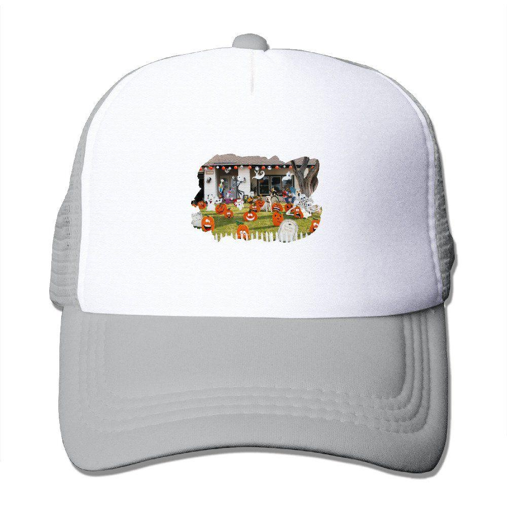 90ba4c6b Unisex Family Friendly Skeleton And Ghost Good Vibes Adjustable Mesh Hat  Trucker Baseball Cap. Family