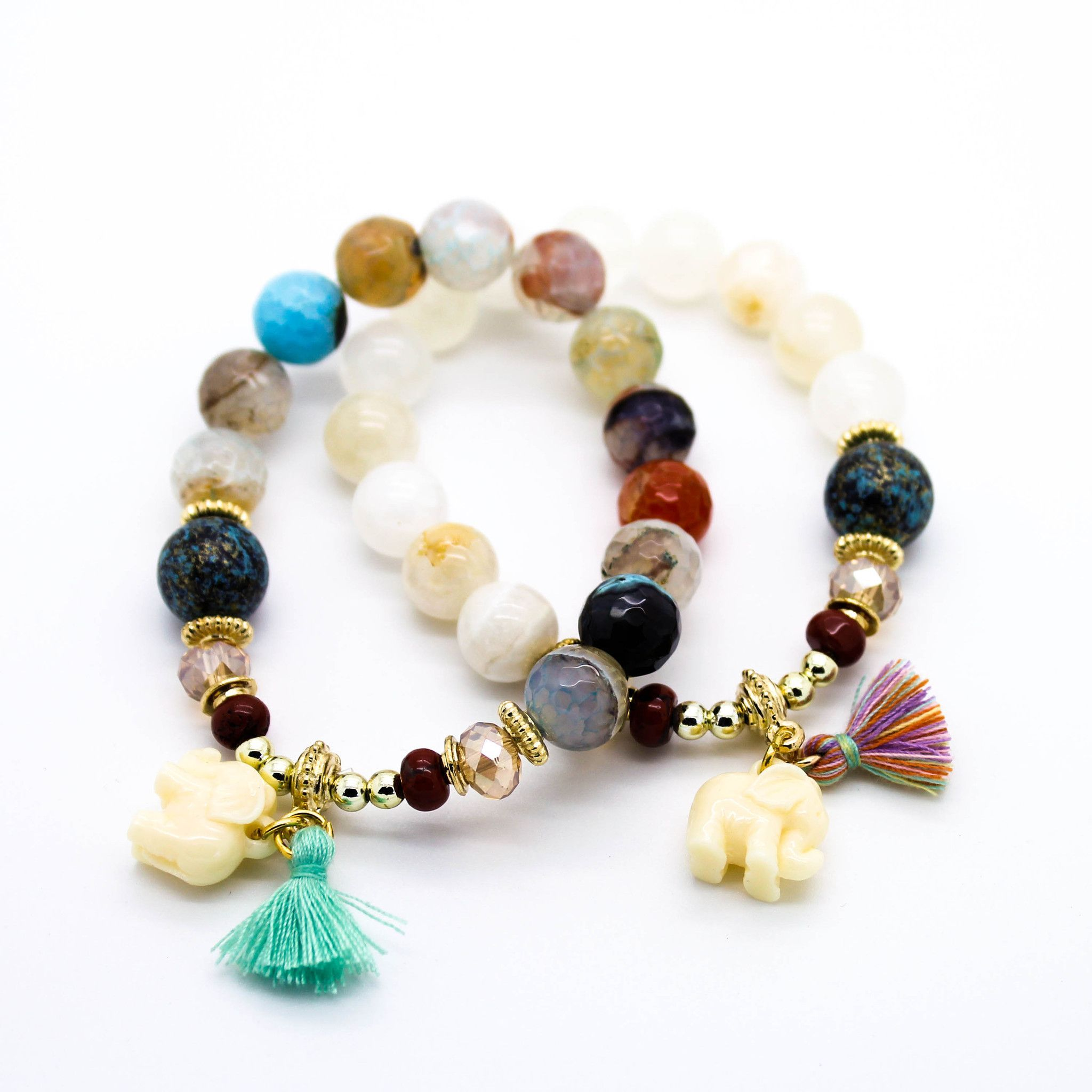 ibiza dreamers lava precious bracelet wrap bead img double stone and semi product