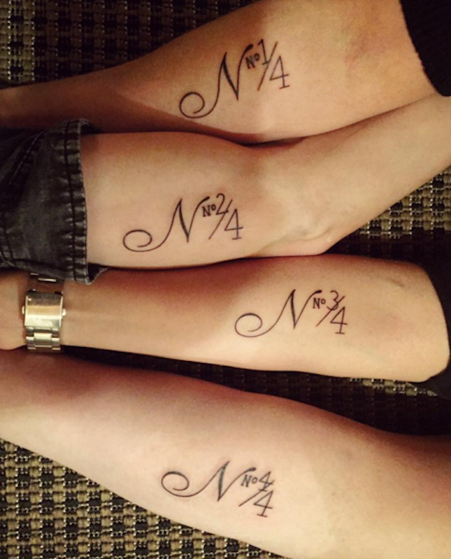 847bb553c 10 #SiblingTattoos That Will Melt Your Heart via Brit + Co | Sibling ...