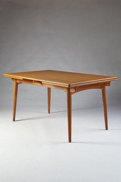Dining Table Designed By Hans Wegner For Andreas Tuck Denmark
