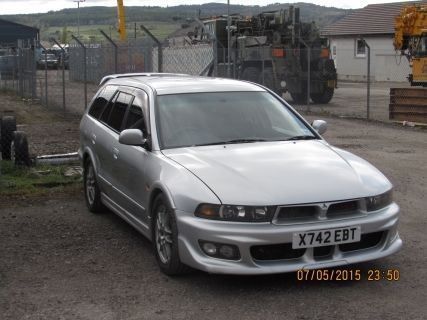 Mitsubishi legnum vr4 galant 2 5 twin turbo evo estate   james