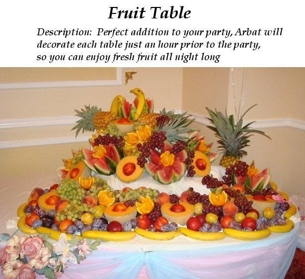 Table Decorations For Weddings | Wedding Table Decorations Of Fruit  Bouquets | Wedding Decor