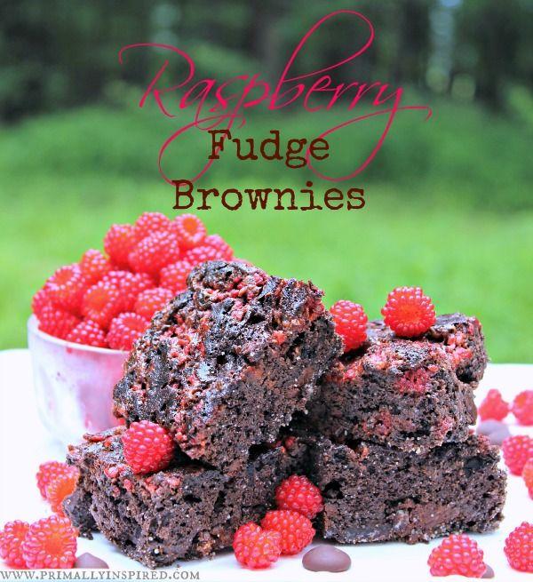 Raspberry Fudge Brownies Grain Dairy Nut Free Recipe Fudge
