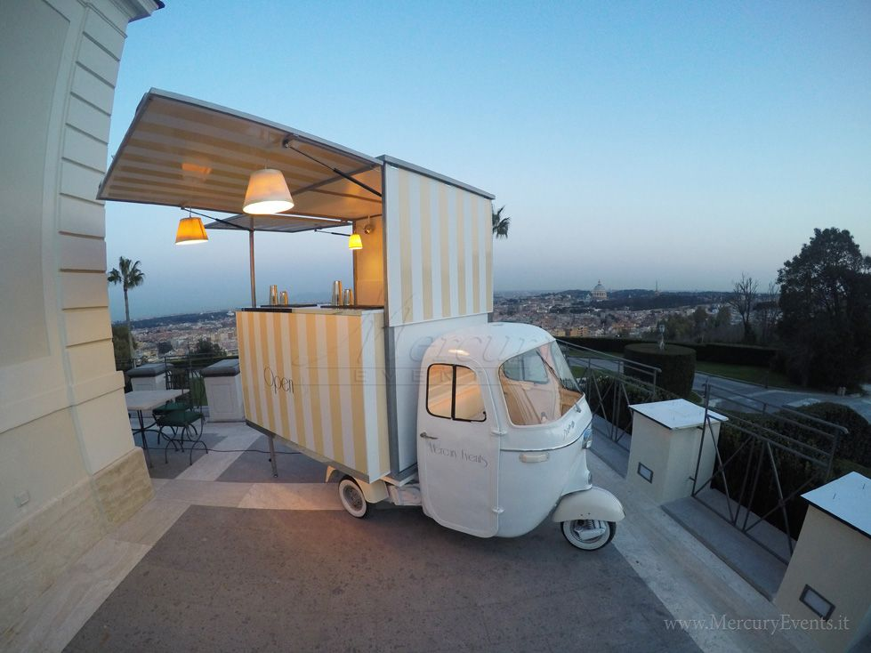 Ape Bar street food ape ritivo roma napoli milano toscana firenze matrimoni wedding