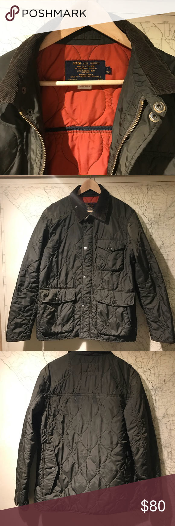 J. Crew quilted jacket (With images) Quilted jacket