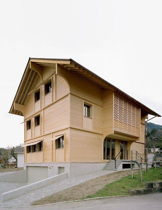 SEILERLINHART Haus K, Alpnach Moderne hausarchitektur