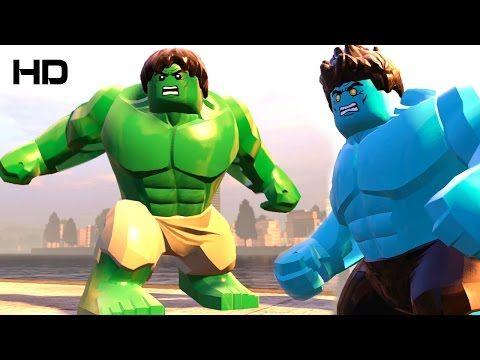 HULK vs BLUE HULK LEGO MARVEL'S AVENGERS | GMAC Gaming | Pinterest