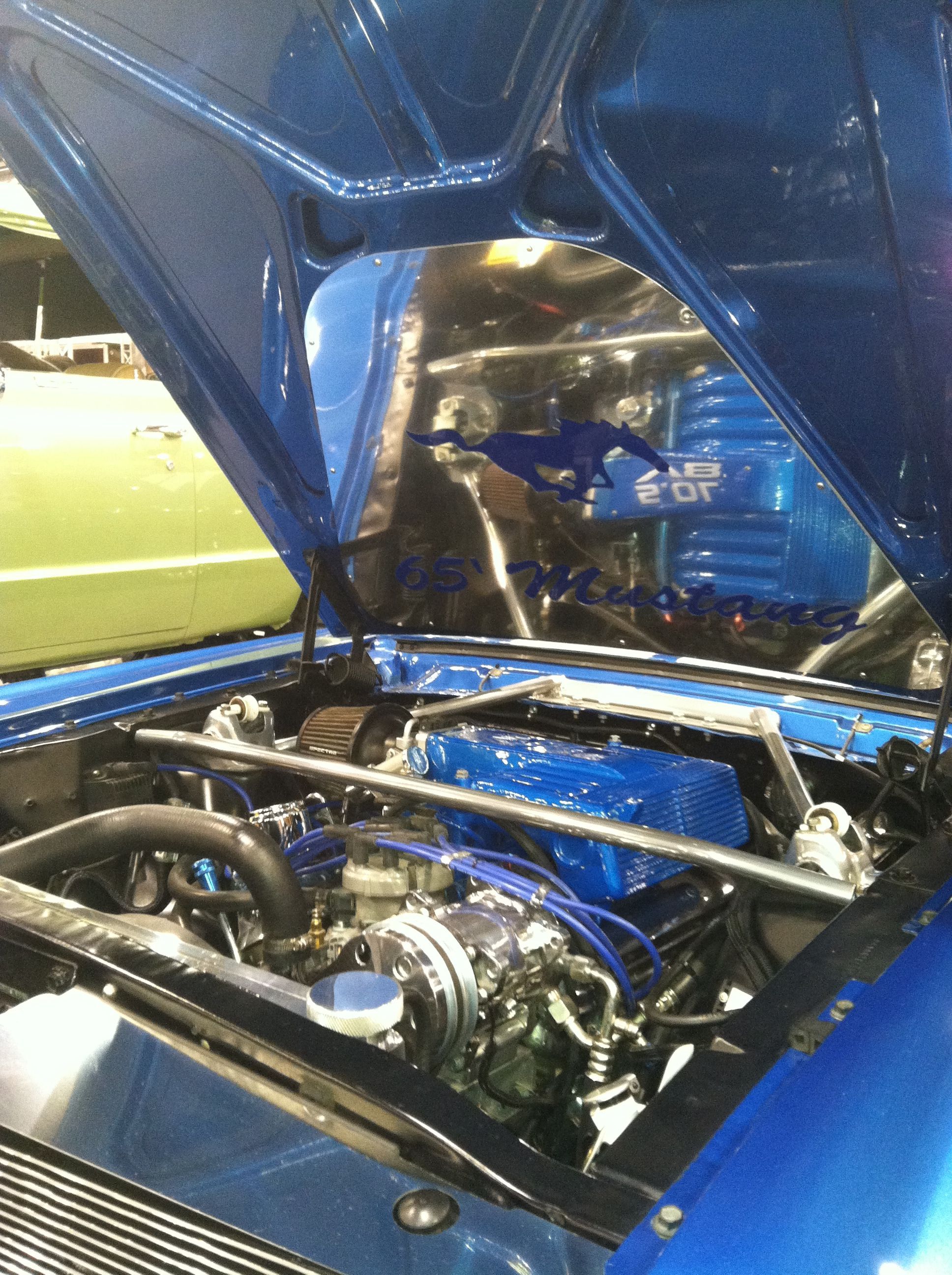 65 Ford Mustang from the Phoenix Dub Magazine Car Show Classic