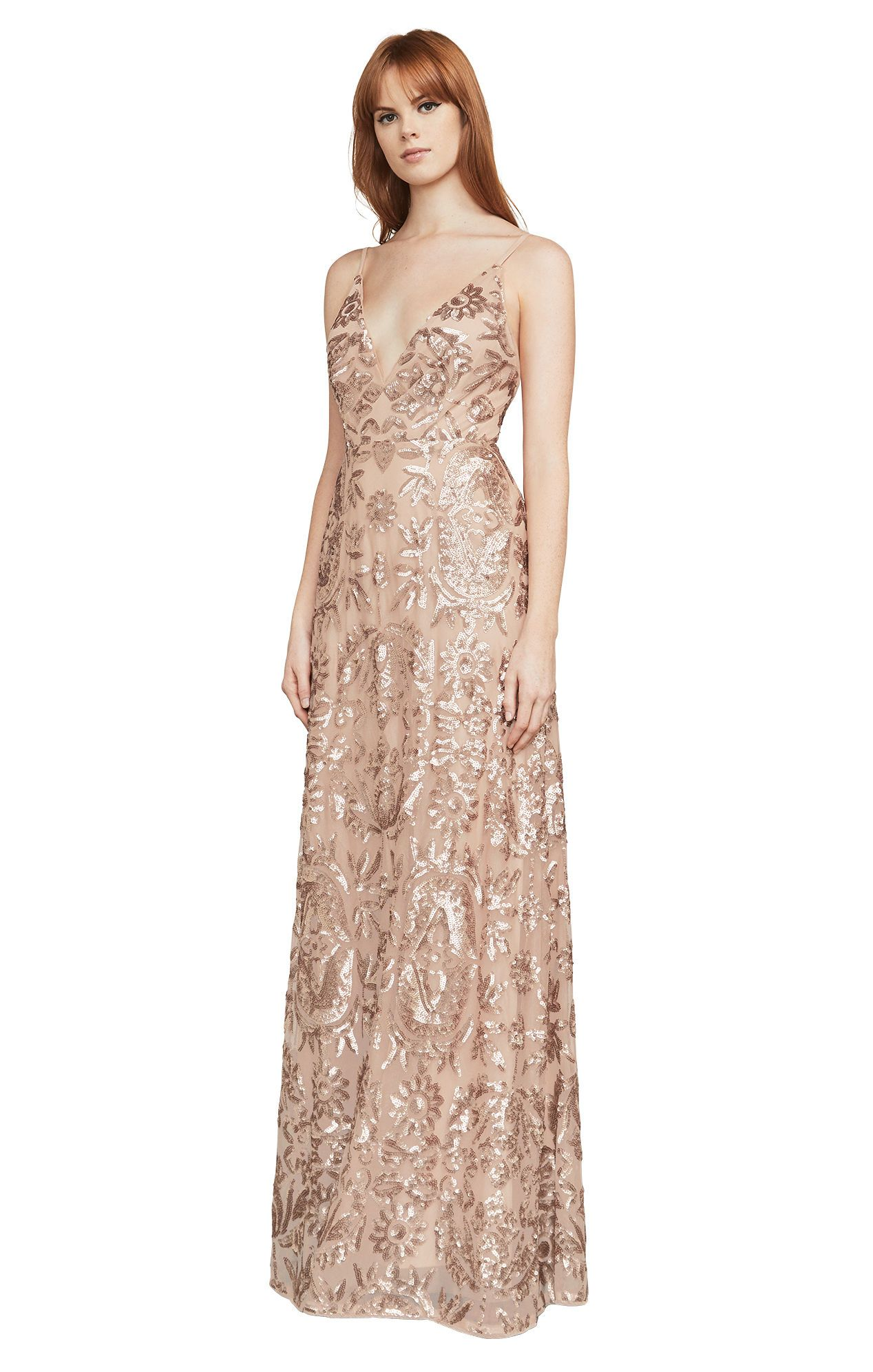 65ce8bfebe Dorthea Sequin Backless Gown