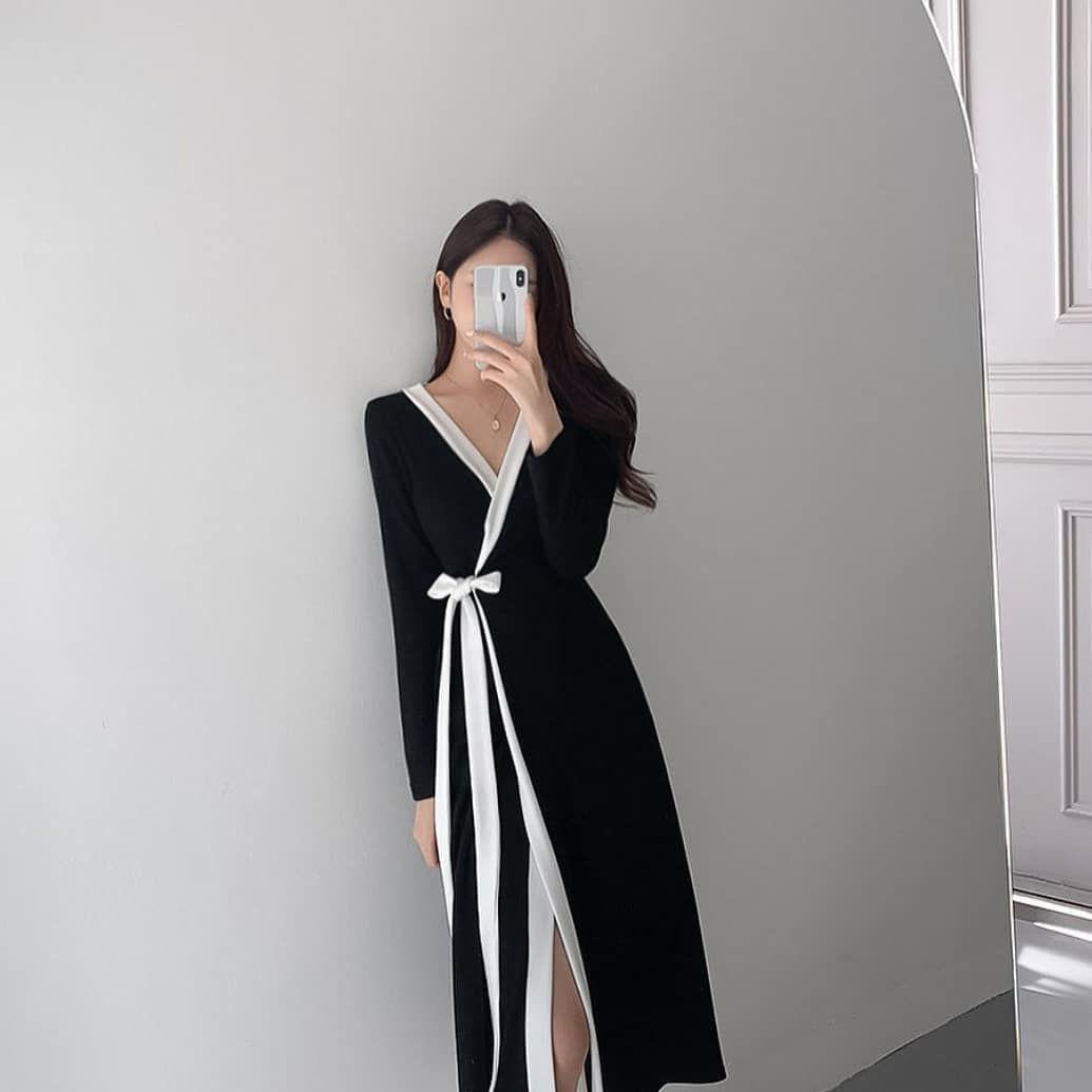 Woman Classic Outfit Inspire Stylish Winter 2020 Cute K Pop Fashion Instagram School Fashion Fashion Outfits Korean Fashion Dress