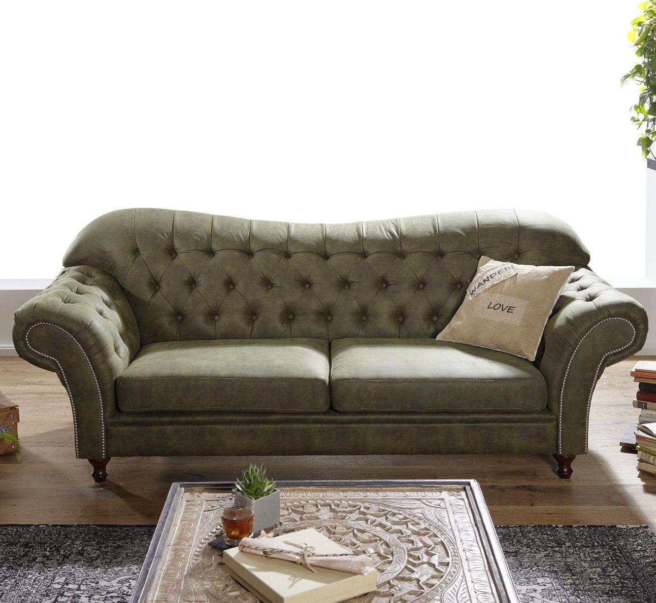 Sofa 230x90x84 Grun Sheffield Sofa Wohnzimmer Sofa Und Sofas