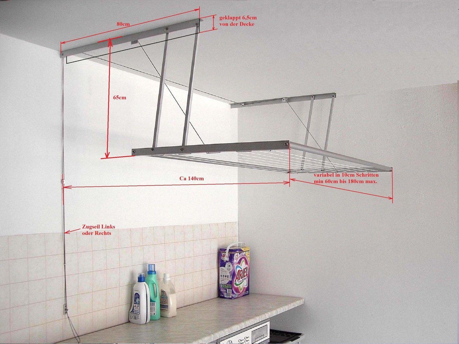 Details zu Schvink A Deckentrockner Wäschespinne ...