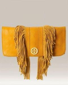 Fringe purse-Tory Burch
