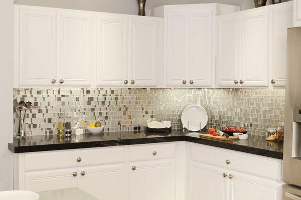 küche einrichten mosaikfliesen wandgestaltung ideen | Mosaik ...