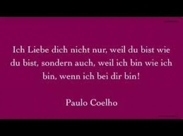 Paulo coelho zitat Zitate von