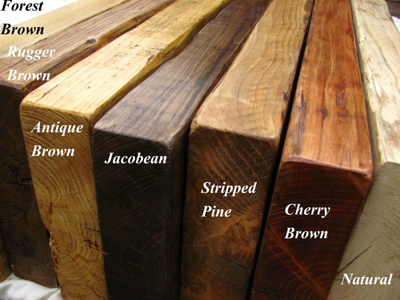 reclaimed floating shelf mantel chunky shelves driftwood ebay