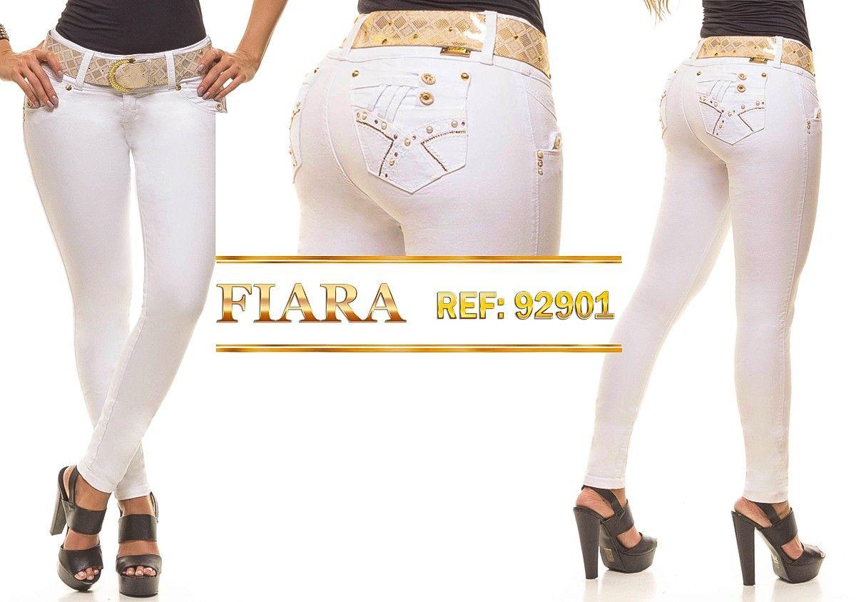 Pantalón colombiano Fiara Jeans +Modelos en… | mujer | Pinterest ...