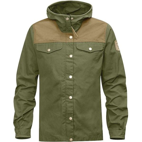 Fjallraven Women's Greenland No.1 Special Edition Jacket (19.560 RUB) ❤ liked on Polyvore featuring green and fjällräven