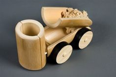 Artesanato com bambu 013