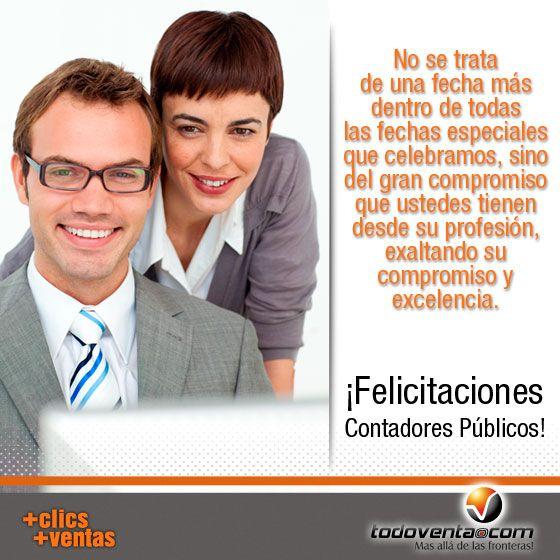 Felicitaciones Contadores Públicos.