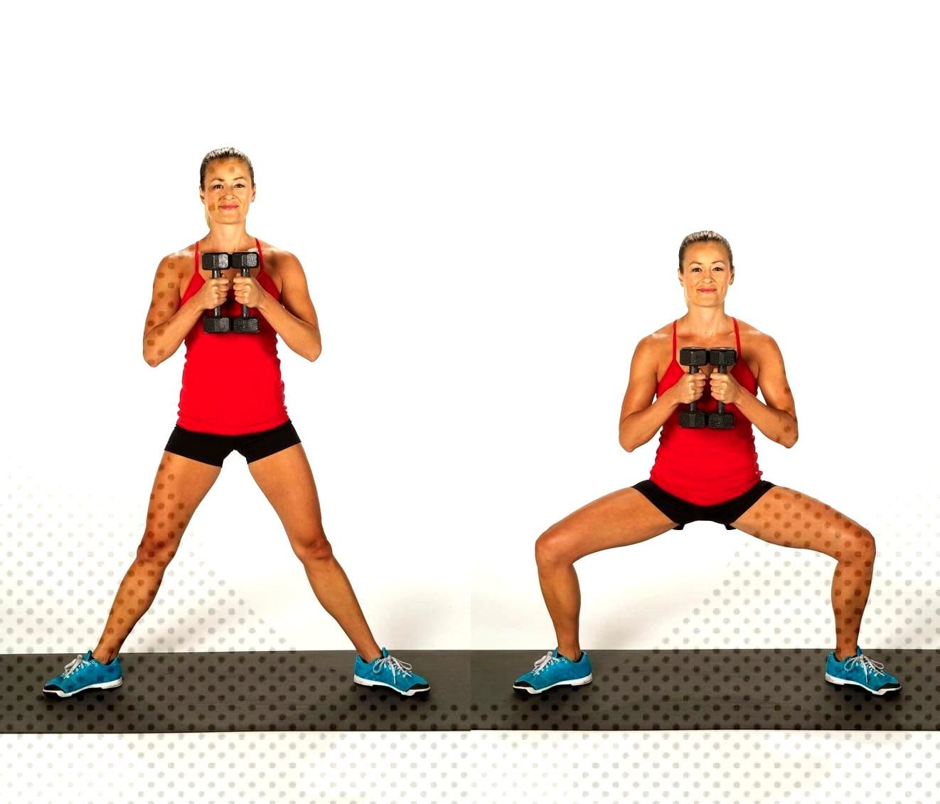 Dumbbell Sumo Squats#dumbbellYou can find Squats and more on our website.Dumbbell Sumo Squats#dumbb