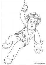 Ausmalbilder Von Feuerwehrmann Sam Zum Drucken Cartoon Coloring Pages Fireman Sam Birthday Party Fireman Sam